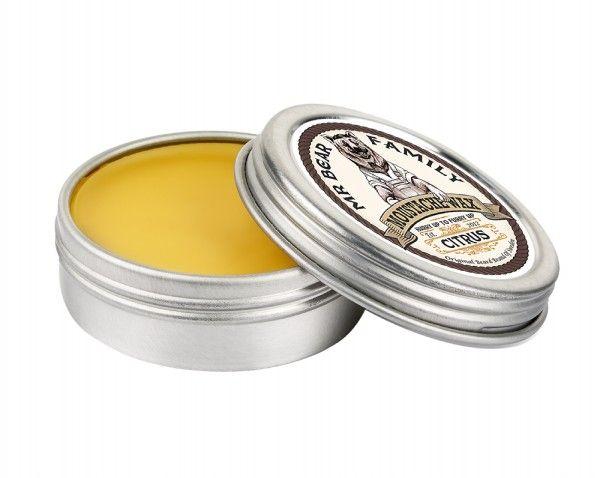 MR BEAR FAMILY Beard Stache Wax  citrus cera da baffi morbida 30ml | OroRosso Beauty - profumi e trattamenti delle migliori marche in vendita online