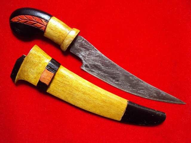 Badik Laki - Man Antique knife 20 cm