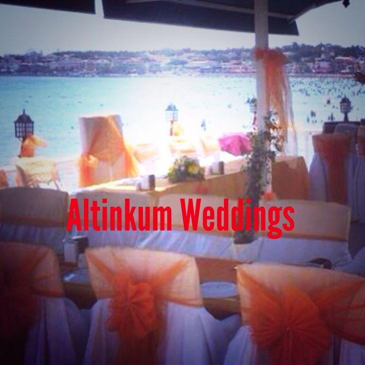 Beach Weddings in Turkey by Altinkumweddings.com