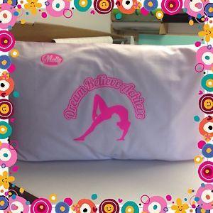 a gimnastico funda de almohada gratis nombre personalizado regalo navidad