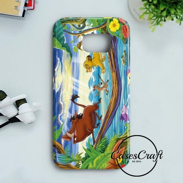 Timon Pumbaa And Simba Samsung Galaxy S7   casescraft
