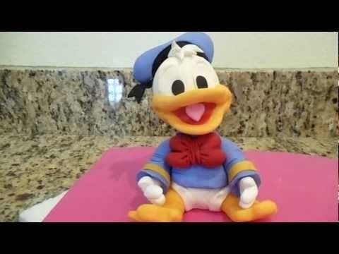 Donald Duck Cake Topper - YouTube