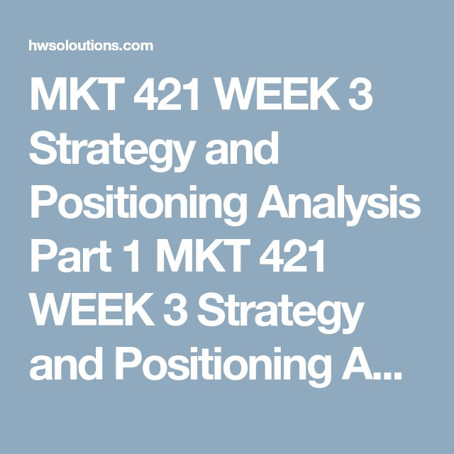 """MKT 421 WEEK 3 Strategy and Positioning Analysis Part 1 MKT 421 WEEK 3 Strategy and Positioning Analysis Part 1 Select a new product or service that will be launched by either an existing organization or one you will create. Obtain your instructor's approval of your product or service before beginning this project.  Complete the following assignment using the """"Strategy and Positioning Analysis"""" template.  Develop a 2,100-word analysis explaining the following headings:  Describe the organizat..."""