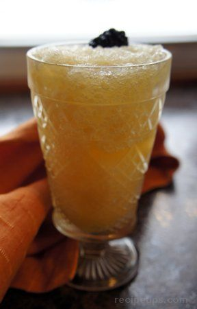 Amaretto Slush...I have made this with whiskey but never thought of using amaretto. I love amaretto! Brilliant!