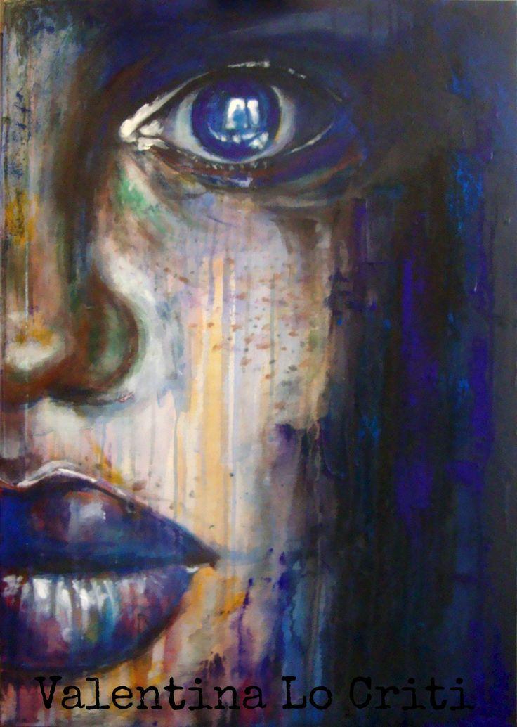"Valentina Lo Criti ""The front window"" | Acrylic on canvas"