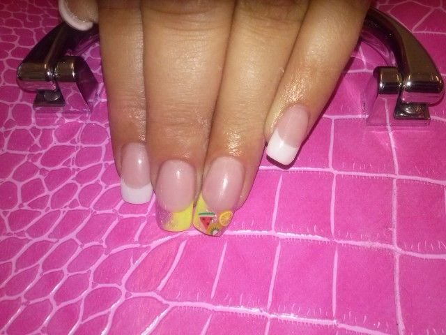 Gel with fimo