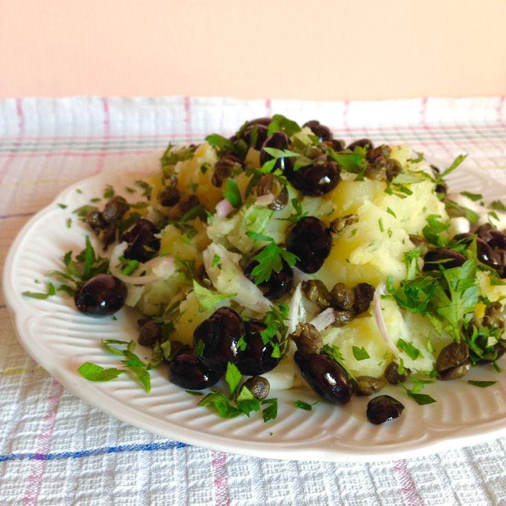 Insalata di Patate, Olive e Capperi   180°C di Dolcezza