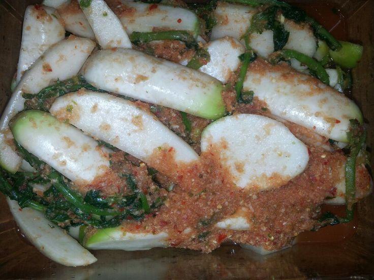 Radish water kimchi 열무 물김치