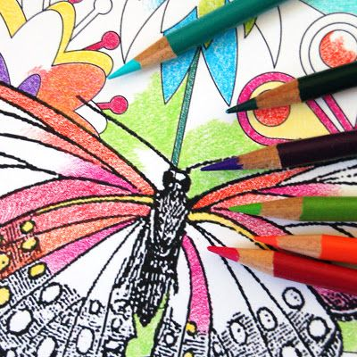 art diy free printables colouring page