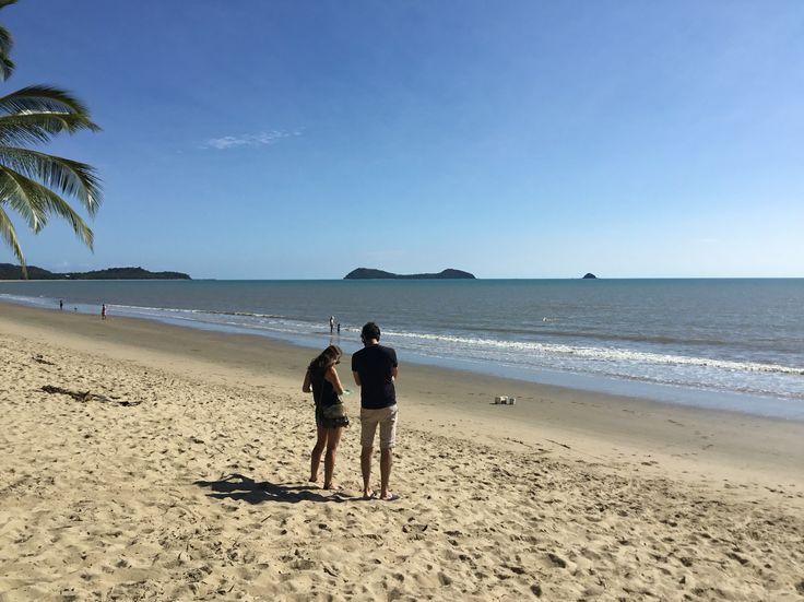 Glorious morning at Kewarra Beach #kewarrabeach #tropicalwinter #sunshine #happiness