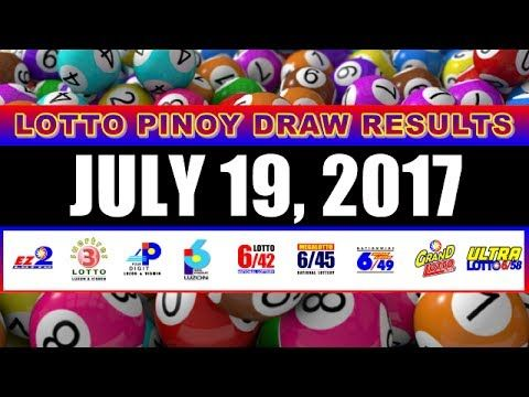 PCSO Lotto Result Today July 19, 2017 COMPLETE & OFFICIAL - (More info on: https://1-W-W.COM/lottery/pcso-lotto-result-today-july-19-2017-complete-official/)