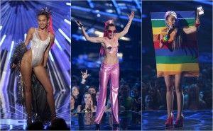 """Parece que Miley Cyrus siempre busca superarse no sólo en su labor como cantante sino en lo impactante de sus fotografías. Como parte de una sesión para la revista """"Interview"""", la joven de 22 años posó en lo que parecen ser -hasta ahora- sus imágenes más impactantes. El fotógrafo Mert Alas compartió en Instagram imágenes […]"""