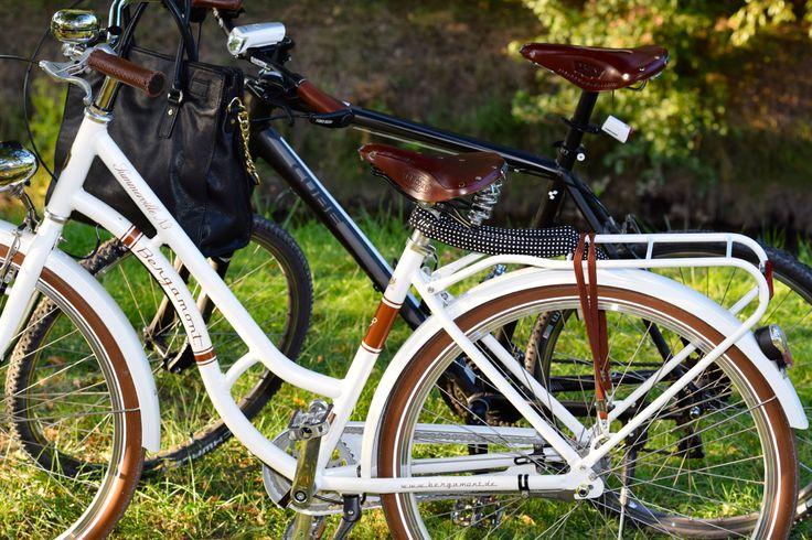 Brooks Ledersattel, Fahrrad: Bergamont
