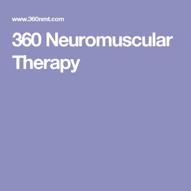 360 Neuromuscular Therapy