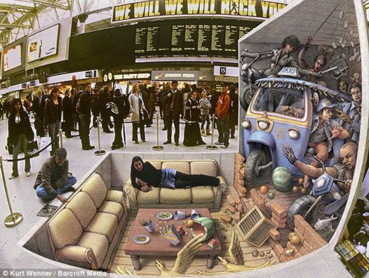 25 Insane Realistic Chalk Art Drawings That Are Out Of This World.