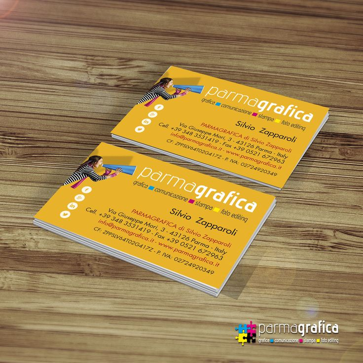 Parmagrafica present card