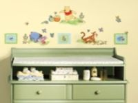 Winnie the Pooh-pooh Toddler peel and stick wall decals