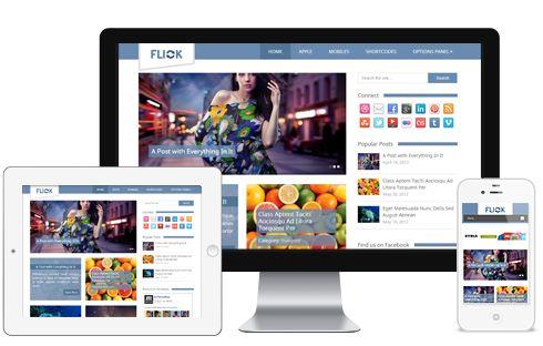Flick A Media, Photography & Images Responsive Blog WordPress Theme