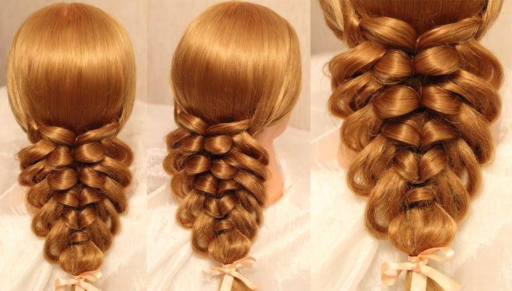 Подборка уроков - 3 самых популярных видео причёсок (time 11:36)