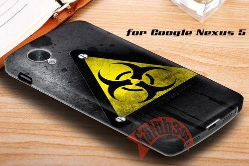 Grunge Industrial Logo Google Nexus 5 Case Cover | galuh303 - Accessories on ArtFire