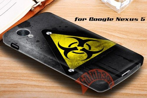 Grunge Industrial Logo Google Nexus 5 Case Cover | galuh303 - Accessories on ArtFire