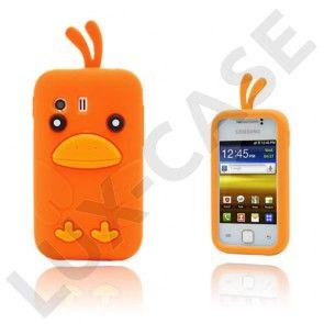 Funny Chicken (Orange) Samsung Galaxy Y Cover
