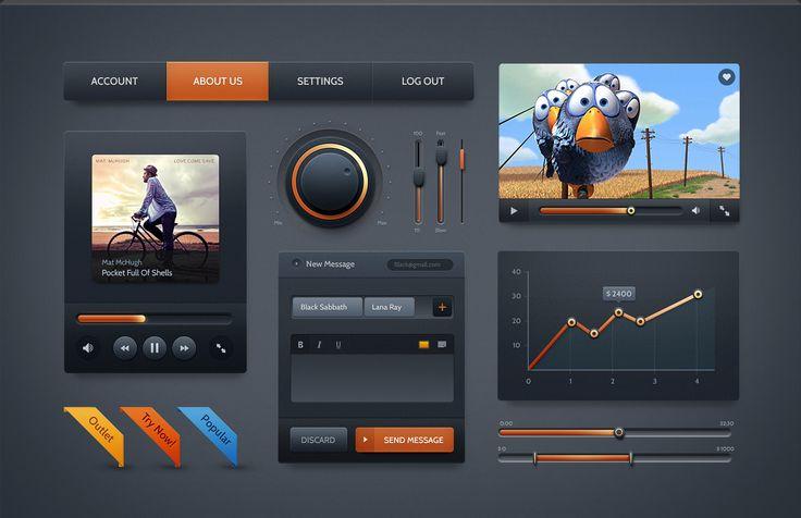 Premium Web UI Kits & Design Resources | PixelKit
