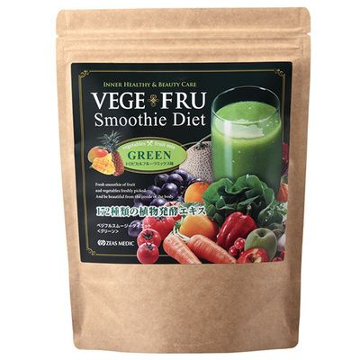 VEGEFRU ベジフル スムージーダイエット(グリーン) フルーツミックス味