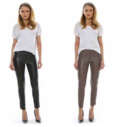 Sexy leather pants from L.Y.N.N. by Carla Ferreri! Available in five colors at: https://storebrandsvip.com/b2b/products/?category=1&brand=7&page=2