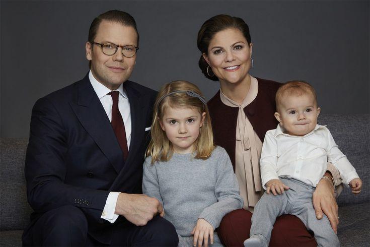 New photos of Crown Princess Victoria, Prince Daniel, Princess Estelle and Prince Oscar 3 Feb 2017