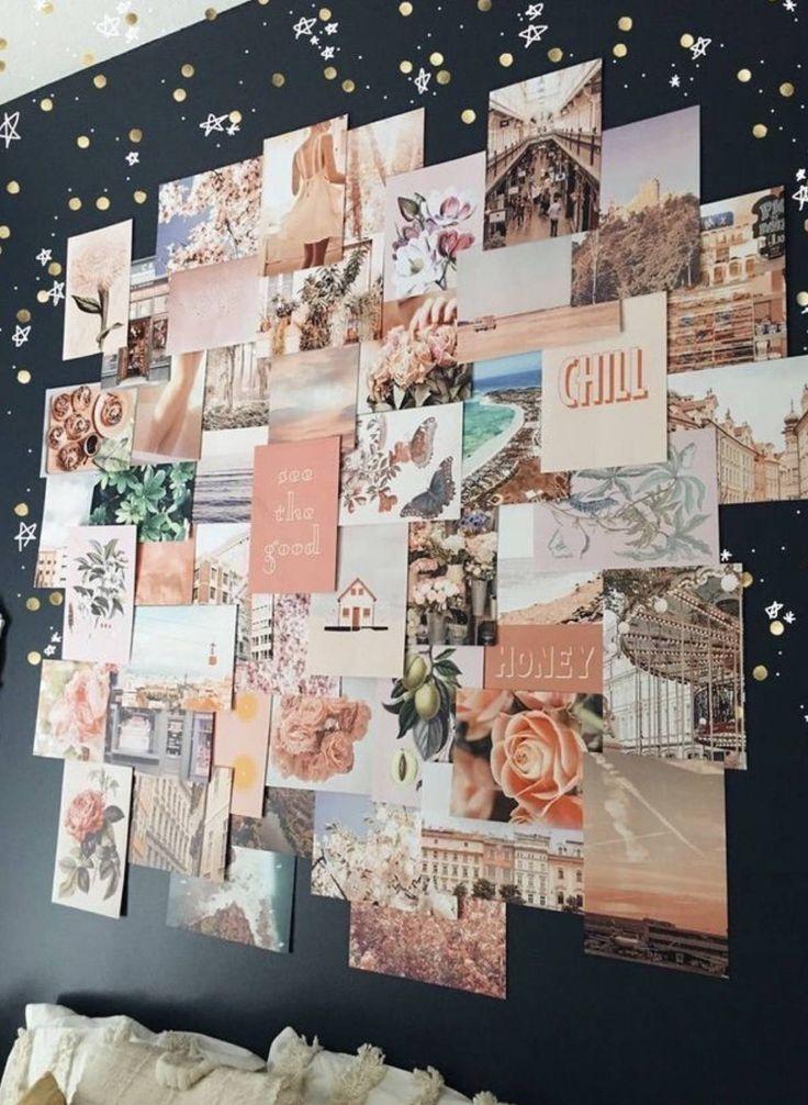 10 VSCO Bedroom Ideas for the VSCO Girl Wall collage