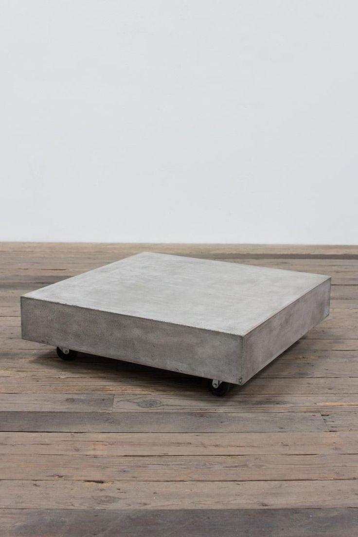 1000 ideas about concrete coffee table on pinterest. Black Bedroom Furniture Sets. Home Design Ideas