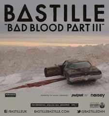 Bastille Tour 2014 | Tickets ab Mittwoch im Vorverkauf | Termine in diesem Jahr ausverkauft | fünf Konzerte