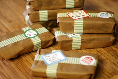 Gift Idea 8x8 Pan Of Any Goodie Cut Into 8 Bars Wrap In
