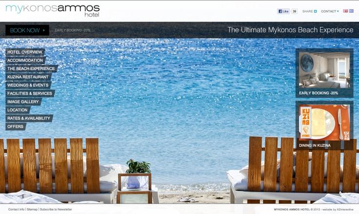Mykonos Ammos Hotel  www.mykonosammoshotel.com