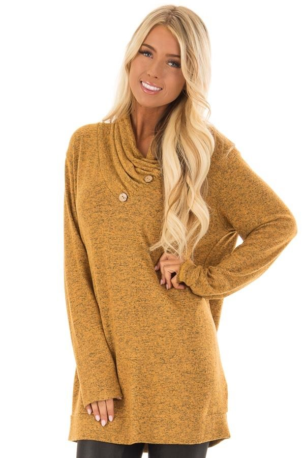 1bbca8742eaf Amber Two Tone Long Sleeve Dress. Lime Lush Boutique - Mustard Cowl Neck ...