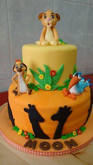 tortas con animales de la selva - Buscar con Google