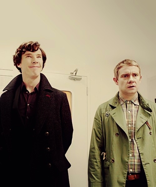 Sherlock. Lol their faces. And tht is the difference between john and sherlock in a nutshell