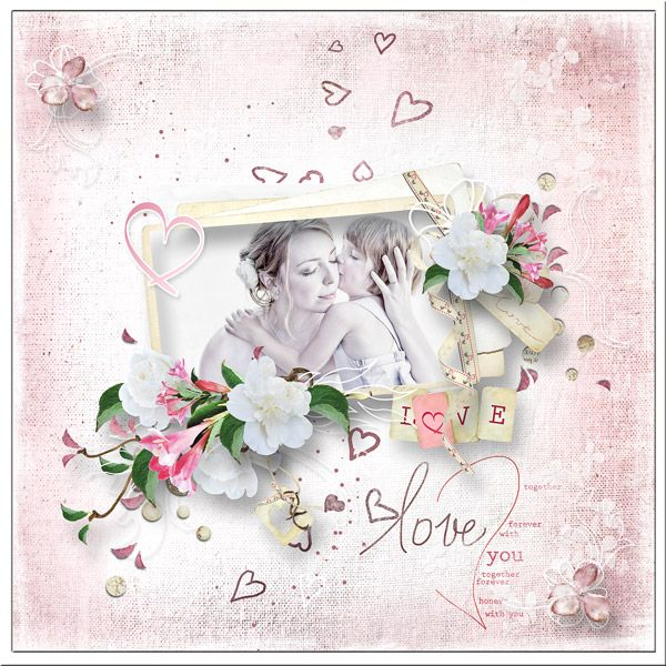"""""""Bird Song of Love"""" Collection by MiSi Scrap http://www.digiscrapbooking.ch/shop/index.php?main_page=product_info&cPath=22_225&products_id=19063#prettyPhoto"""