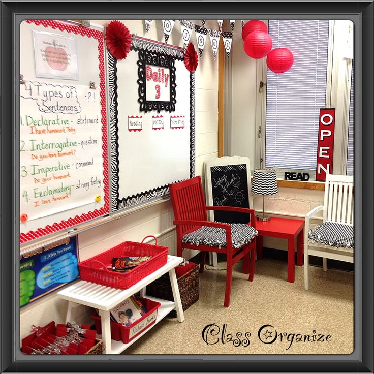 Classroom Decor Black : Best images about black and red classroom theme on