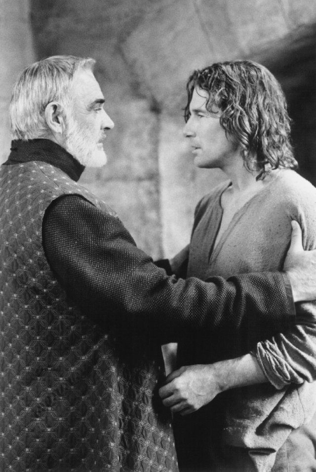 Still of Sean Connery and Richard Gere in First Knight