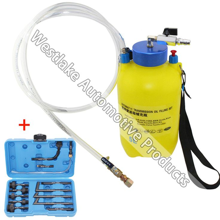 Pneumatic Auto Transmission Oil Filling Set Gear Box Oil Adding Tool 5 Liter 13pcs Adaptor Set For VW AUDI FORD BMW BENZ