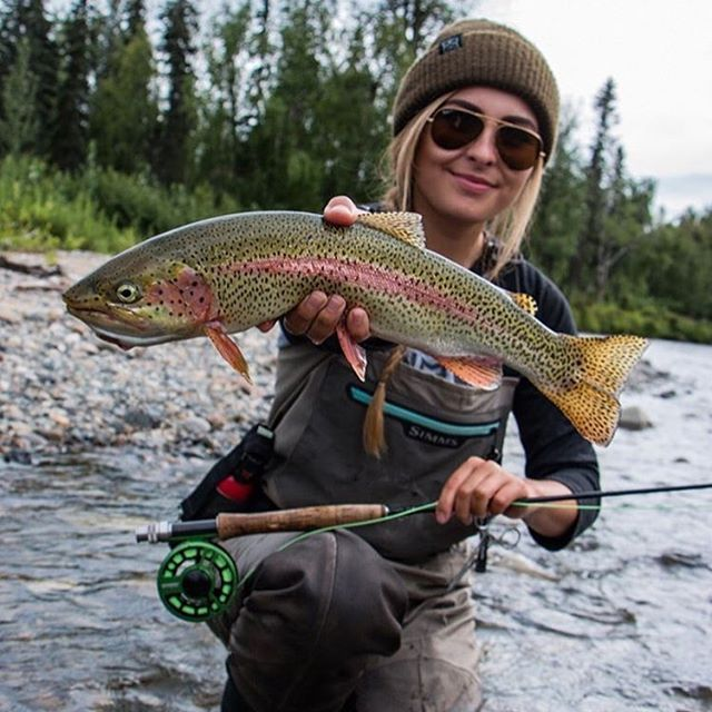 @tessashetter doing what she does best! #girlsfishingdaily #fishing…