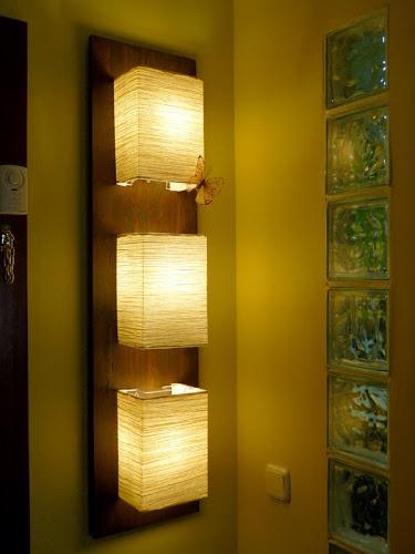 lamparas de papel