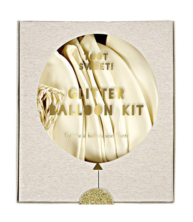 Mignon | glitter balloon kit