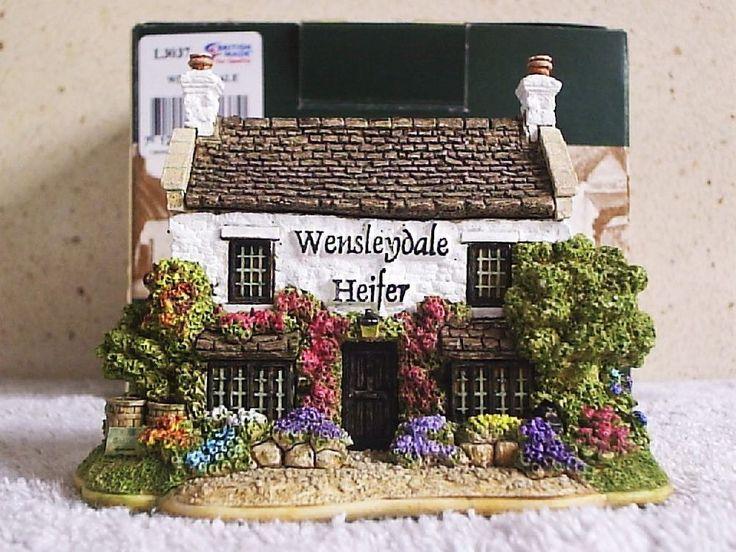 Lilliput Lane .. WENSLEYDALE HEIFER .. West Witton - North Yorkshire