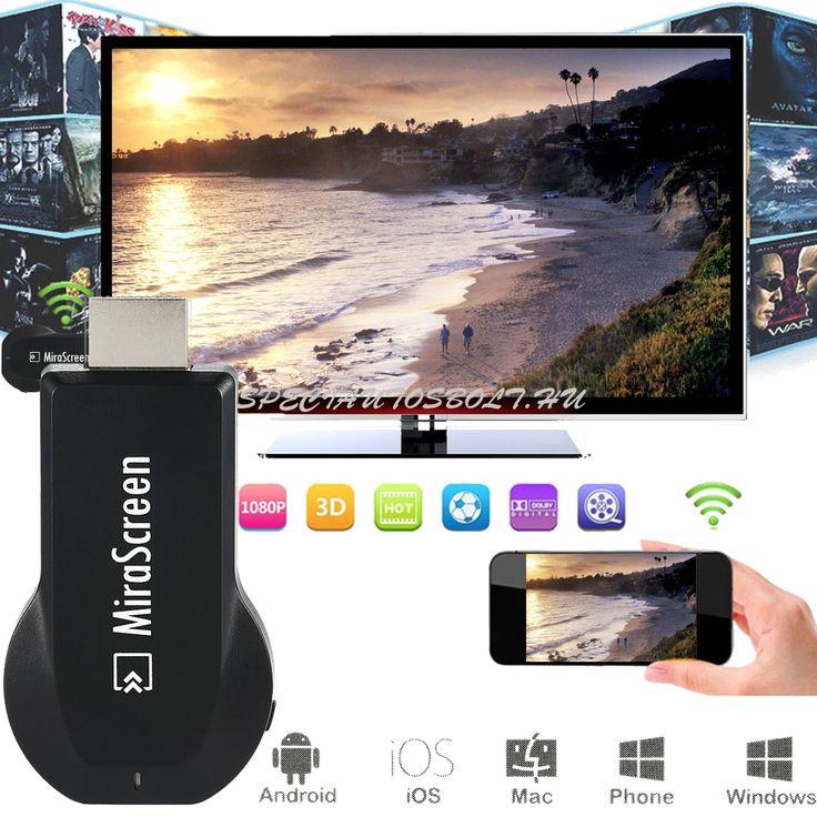Mira Screen HDMI wifi csatlakozó, Tévé okosítóTévé okosító, HDMI WIFI csatlakozóUtazás, buli, nyaralás, vagy csak egyí hétköznap utánhazaérsz, és szeretnéd megmutatni a többieknek a fényképeket