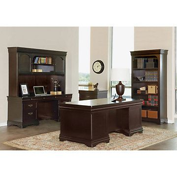 Beaumont executive desk suite traditional office for Q furniture beaumont