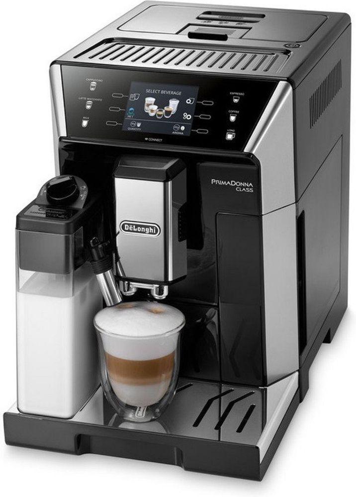 Kaffeevollautomat Delonghi Primaconna Class Ecam550 55 Sb App Steuerung Kaffeevollautomat Espresso Maschine Espressomaschine