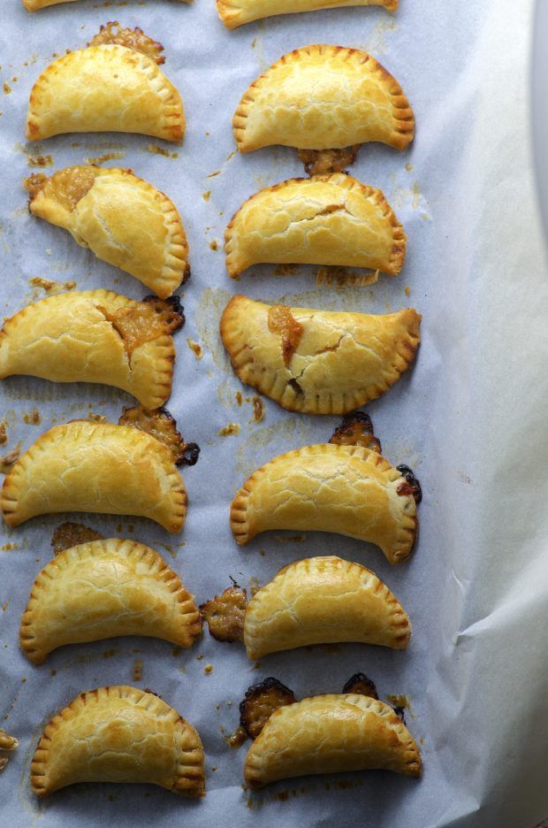 Fig and cheese empanadas. Quick and easy to make a sure way to impress your guests